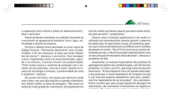 Revista A Lavoura noticia a participação do CI Orgânicos na BioNat