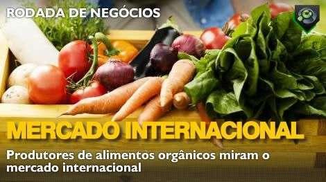 Produtores de alimentos orgânicos miram mercado exterior