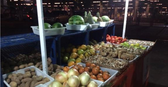 Orgânicos da feira do Jabaquara passam por análise para garantir segurança ao consumidor