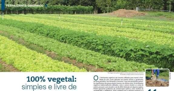 100% vegetal: simples e livre de contaminação