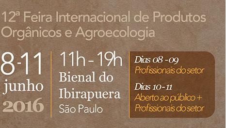 CI Orgânicos e SNA participam da Bio Brazil Fair 2016