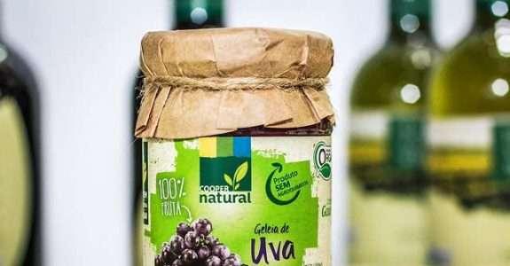 Produção de uvas orgânicas