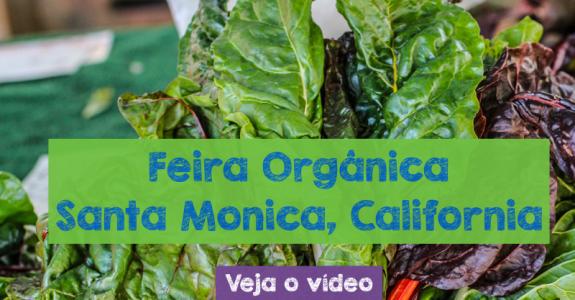 Visita à feira orgânica de Santa Monica, Califórnia
