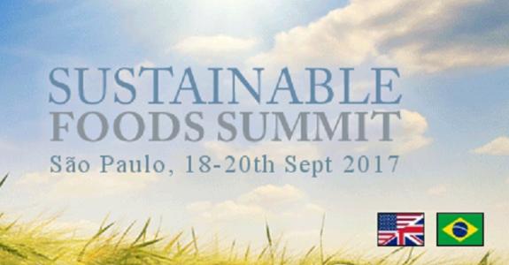 A edição latino-americana da Sustainable Foods Summit será realizada em São Paulo
