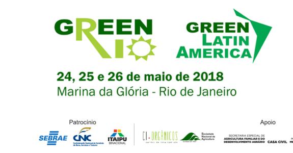 Green Rio 2018 será realizado em maio