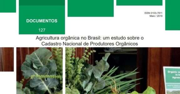 Agricultura orgânica no Brasil: um estudo sobre o Cadastro Nacional de Produtores Orgânicos