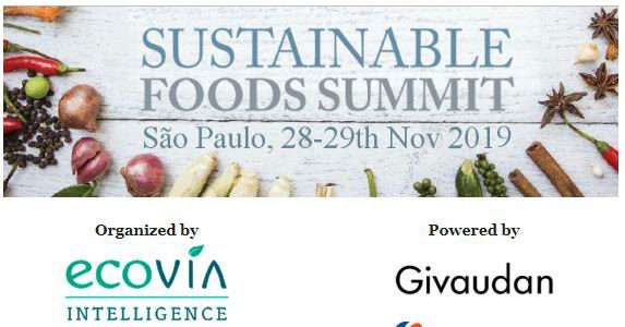 Sustainable Foods Summit 2019