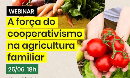 "SNA realiza webinar ""A força do cooperativismo na agricultura familiar"""